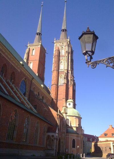 Katedra na Ostrowie Tumskim.