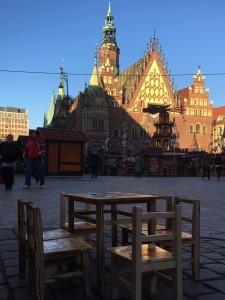 Jarmark Bożonarodzeniowy na wrocławskim Rynku.