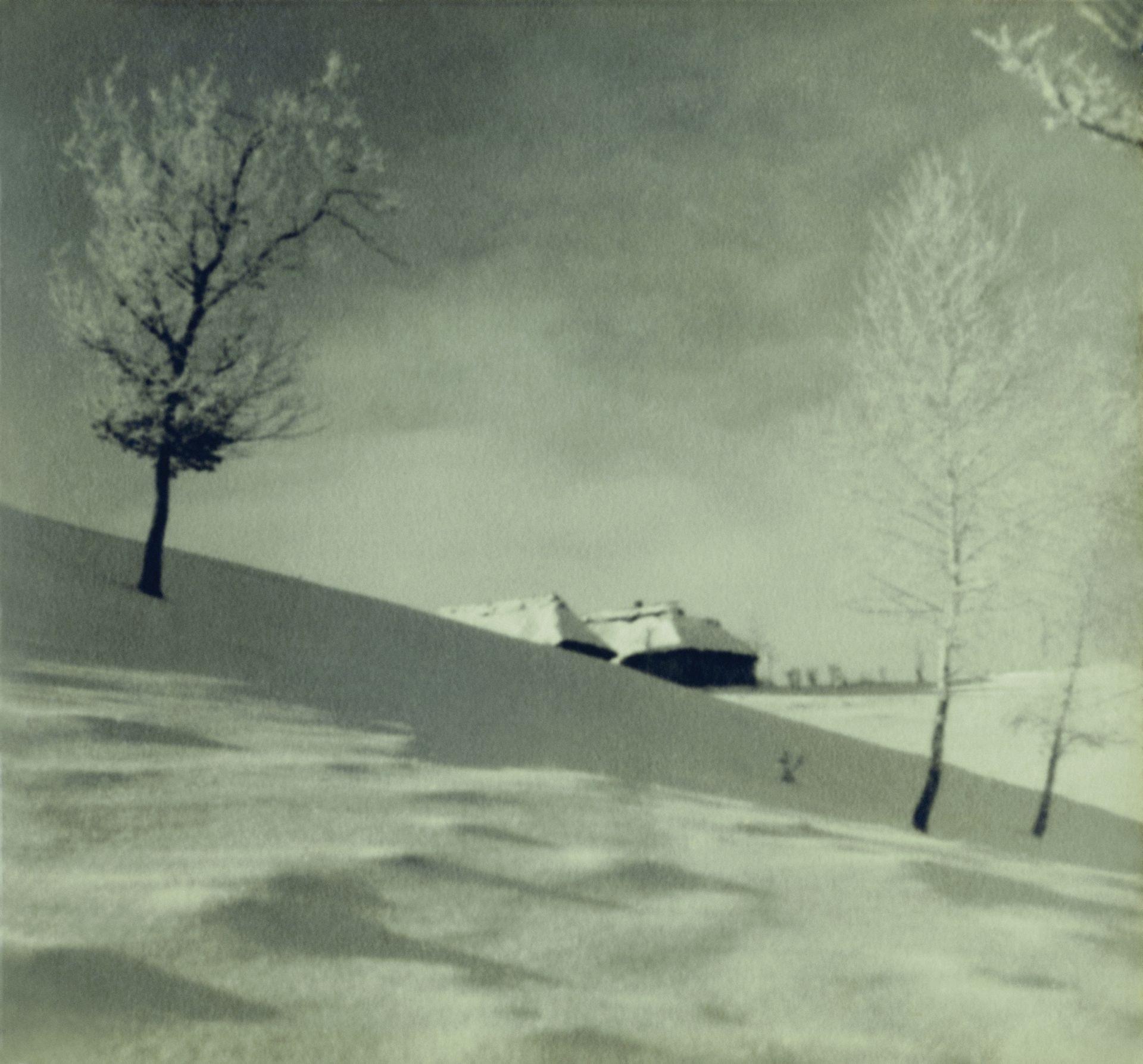 Zima na Wołyniu.