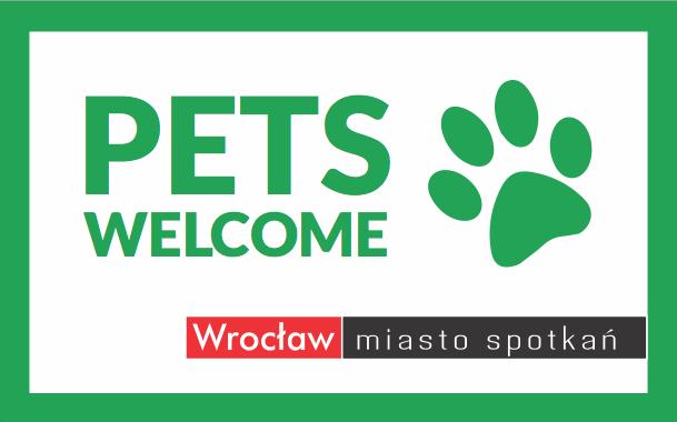 Oficjalne logo Wrocław - Pets Welcome.