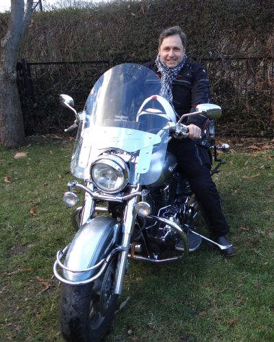 Przewodnik po Wrocławiu na motocyklu.