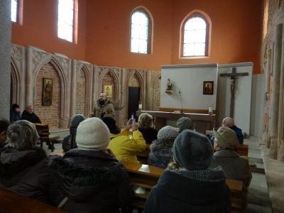 W kościele św. Marcina.