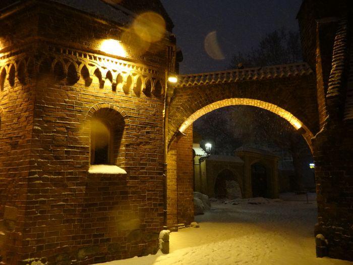 Brama Kluskowa na Ostrowie Tumskim.