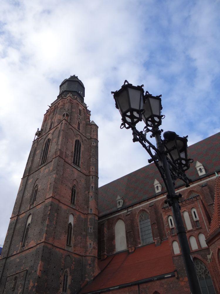 Kościół św. Elżbiety.