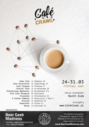 Cafe Crawl - plakat